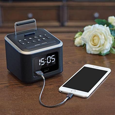 Bedroom Radio Alarm Clocks by Alarm Clock Radio Wireless Bluetooth Speaker Digital Alarm
