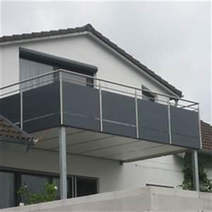 Glas Balkongeländer Rahmenlos : gel nder mit glas und blech ~ Frokenaadalensverden.com Haus und Dekorationen