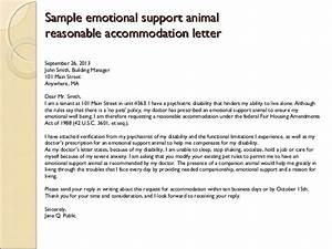 emotional service dog letter anxiety With service dog letter template