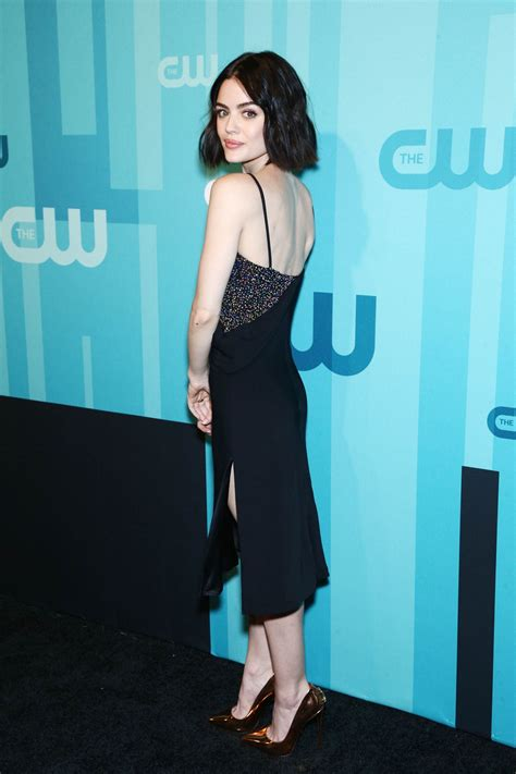 LUCY HALE at CW Network's Upfront in New York 05/18/2017 ...