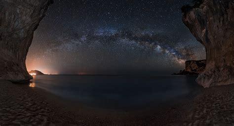 Milky Way Beach Night Sky Starry