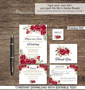 best 25 red wedding invitations ideas on pinterest red With red cream and gold wedding invitations