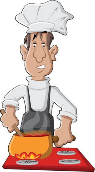 cuisinier dessin couleur illustration couleur cuisinier
