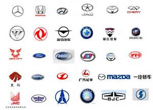 Car Brand Logos and Names