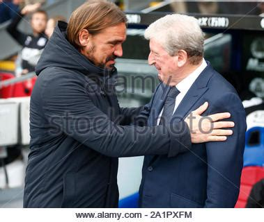 Manager of Crystal Palace, Roy Hodgson - AFC Bournemouth v ...