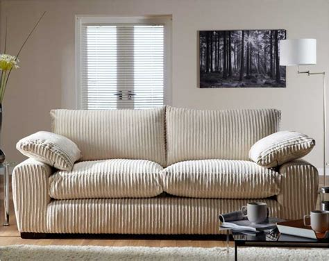 comfortable fabric sofa decor homescorner com