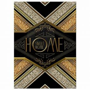 Housewarming Party Invite Steampunk Art Deco Home Sweet Home