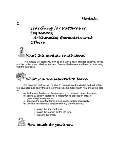 arithmetic and geometric sequences word problems worksheet