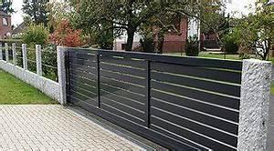 Zaun Metall Anthrazit : moderner zaun in anthrazit garden inspiration pinterest zaun moderner zaun und garten ~ Orissabook.com Haus und Dekorationen
