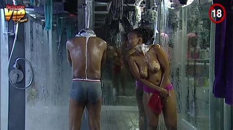 Big Brother Africa Nude Shower Hour Day25 Goitse Sipe