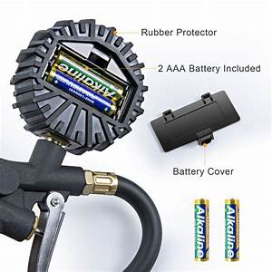 Astroai Digital Tire Inflator With Pressure Gauge  Medium