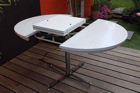 table de cuisine ronde blanche table formica en version ronde ou ovale vintage by fabichka