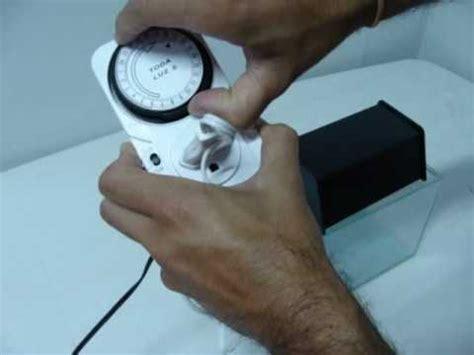 como instalar e configurar timer analogico www aquariushobby br