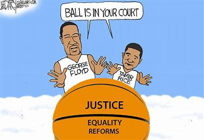 Floyd George Cartoon Justice Darcy Cleveland Memorial