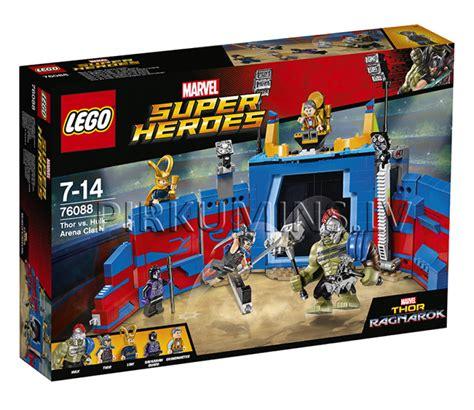 76088 LEGO® Super Heroes Thor pret Hulk: cīņa arēnā, no 7 līdz 14 gadiem NEW 2017! 76088 | LEGO ...