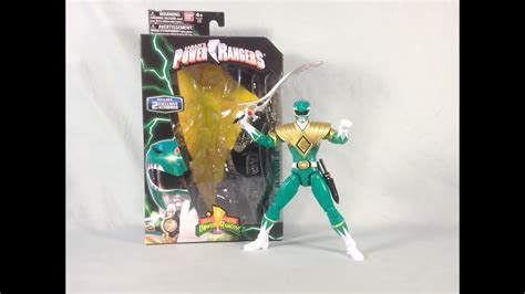 Power Rangers Legacy Collection Mighty Morphin Green ...