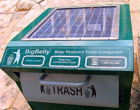 mission viejo tests  bigbelly solar powered trash compactors
