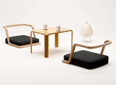 The Japanese-style Items Of Tendo, Rochea, Low Table, Seat