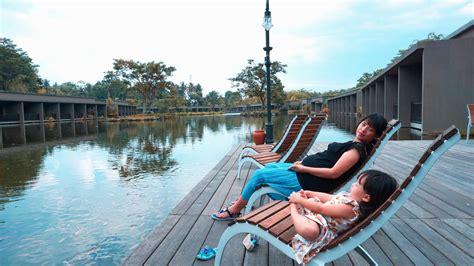 westlake resort jogja hotel tepi danau  menawan