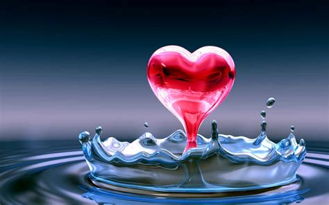 cute heart wallpaper widescreen beautiful wallpaper p