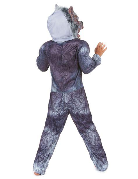 costume da lupo mannaro  bambino halloween costumi