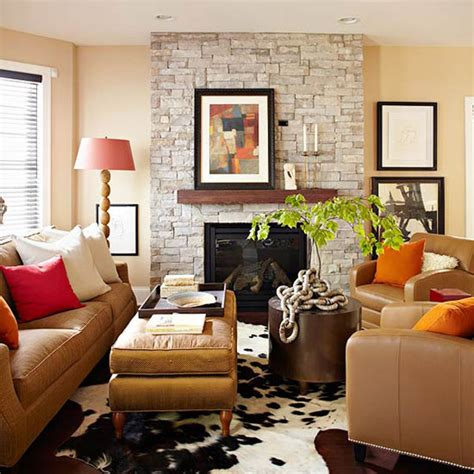 Brown Decor Ideas by Fall Colors Decor With Orange Gold Brown