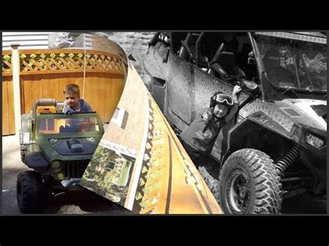 Boys Toys Modified Power Wheels Jeep Hurricane