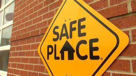 tulsa safe place signs  representative  storm