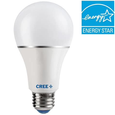 home depot lava l bulb cree 100w equivalent soft white 2700k a21 dimmable led