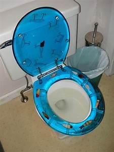 Grampa Grunts Fishing Lure Neon Toilet Seats