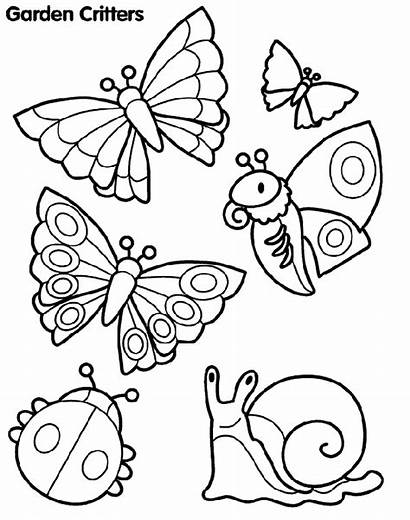 Garden Critters Coloring Crayola Pages Printable Colouring