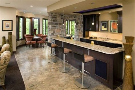 Check Out The Luscious Wet Bar, Offset From The Spacious