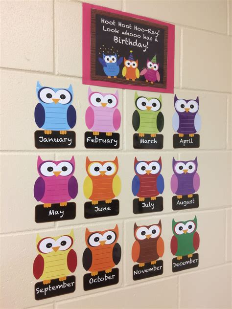 owl themed birthday board pack preschool pinterest