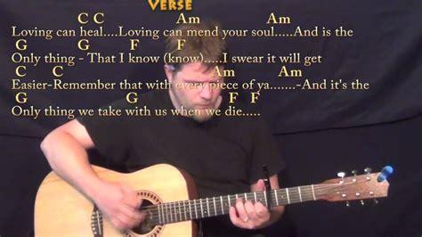 photograph ed sheeran strum guitar cover lesson