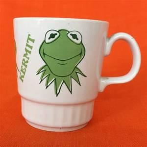 1970s Small Kermit The Frog Mug