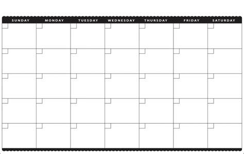 blank calendar template printable blank calendar 2017