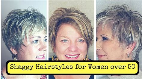 Shaggy Hairstyles For Fine Hair Over 50 (2018)