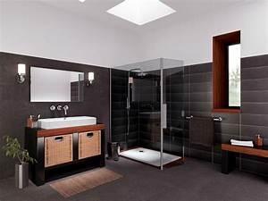 prix d39une douche a l39italienne With salle de bain design avec plaque métallique décorative