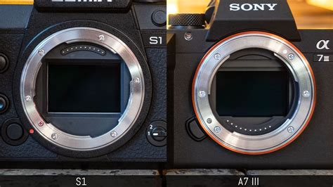 panasonic lumix   sony  iii   main differences