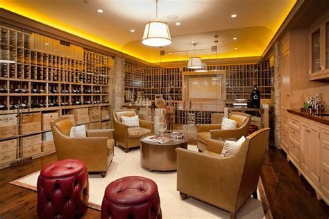 Wine Cellar Ideas   Transitional   basement   RT Abbott
