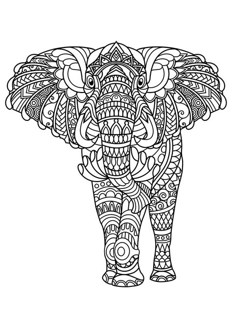 animal coloring pages  coloring animals elephant