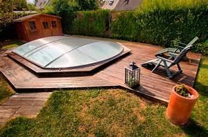 Fabriquer Un Abri De Piscine : abri piscine hors sol abri piscinebelgique abrisud ~ Zukunftsfamilie.com Idées de Décoration