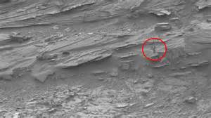 NASA's Curiosity Rover captures image of 'dark lady' on ...