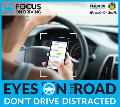 Distracted Driving Awareness  Florida Highway Safety And