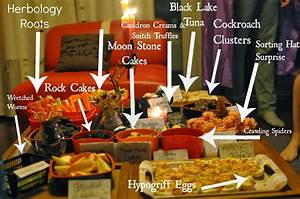 Harry Potter Murder Mystery Party: The Food The Mosbys