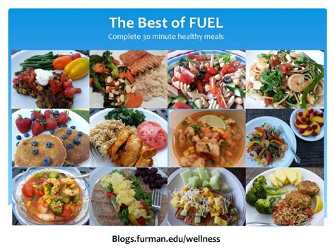 The Best Of Fuel Complete, Healthy 30 Minute Meals Live