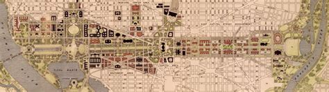 parking garages in dc near national mall this 1941 plan shows another national mall through capitol