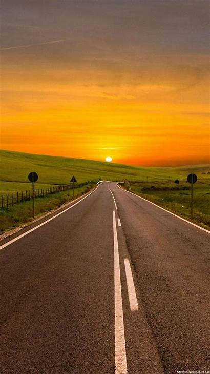 Road Wallpapers Sunset Iphone Vertical Galaxy Pixel