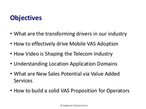 Mobile Vas by Driving Mobile Vas Adoption And Creating A Sustainable Vas