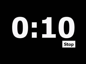 10, Second, Countdown, Timer
